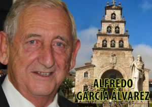 Don Alfredo García Alvarez, alcalde de Cangas de Onís durante tres legislaturas con el Partido Socialista Obrero Español
